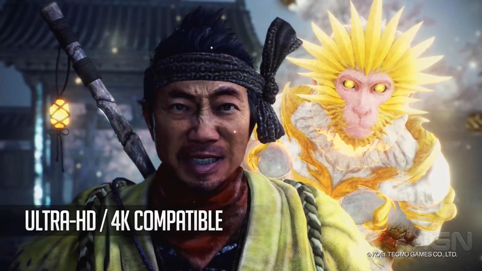 PC《仁王2:完全版》介绍影像 4K、120帧等特性