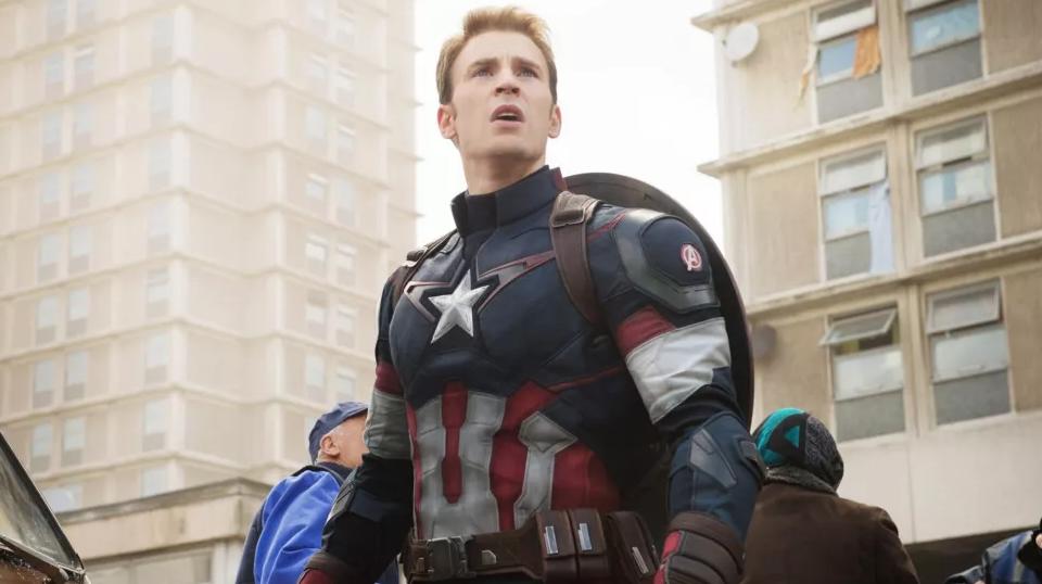 克里斯·埃文斯有望重返漫威电影宇宙担任美国队长