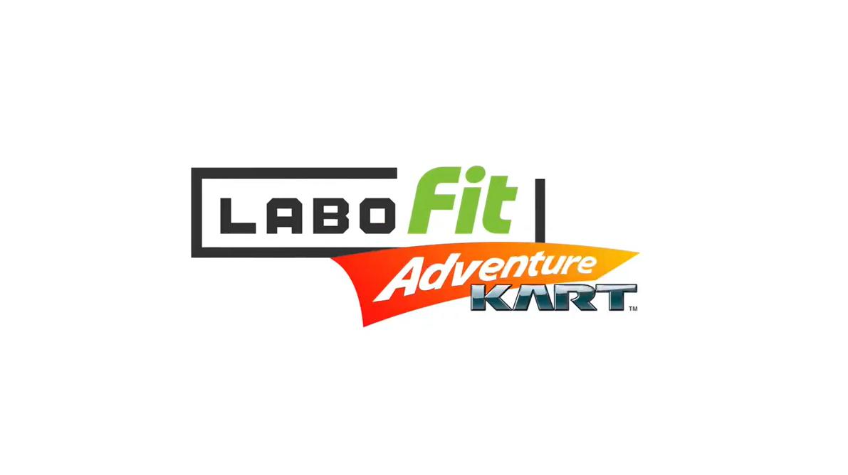 玩家用健身环和Labo游玩《马车8豪华版》 全身锻炼
