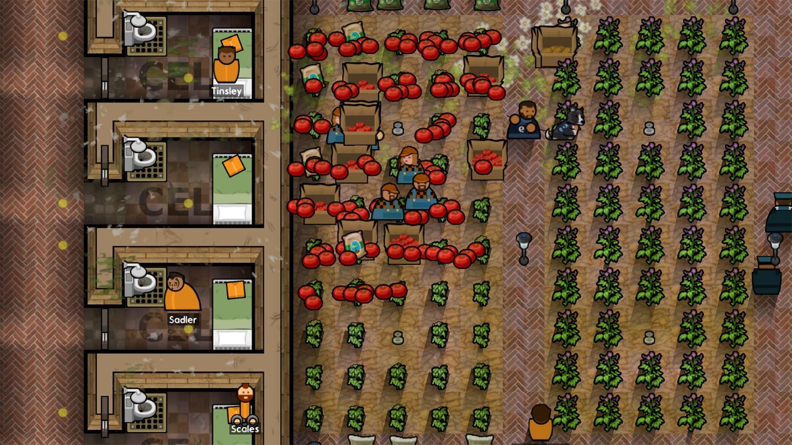 在监狱中种地 《监狱建筑师》新DLC将于1月28日上线