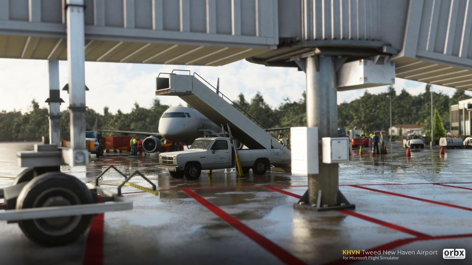 Orbx推出《微软飞行模拟》纽黑文机场附加包