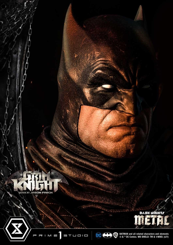 P1S《黑暗之夜:金属》残酷骑士蝙蝠侠雕像 售价1249美元起