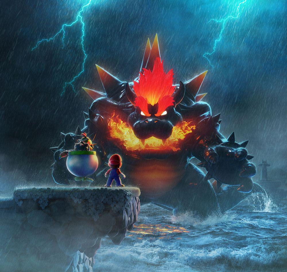英国周榜:《超级马里奥3D世界+狂怒世界》二连冠