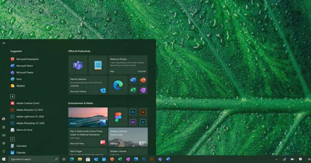 微软正测试Windows10新界面 圆角边缘使其更现代化