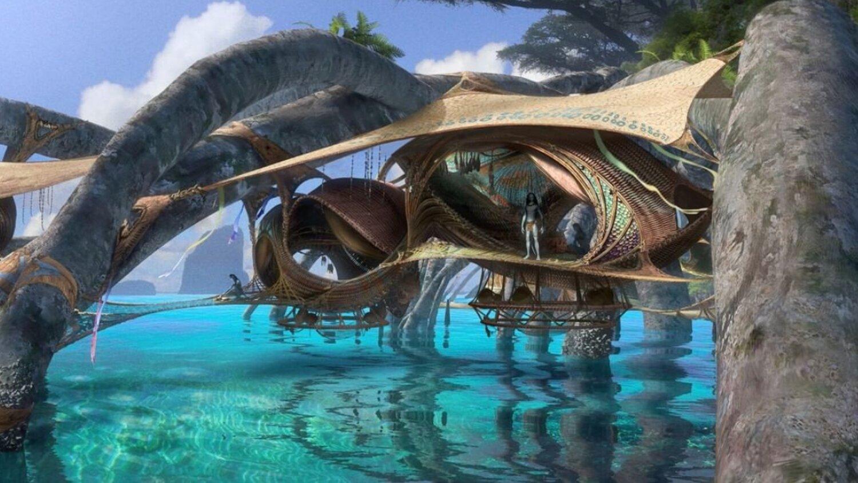 《阿凡达2》新艺术图 潘多拉环境和纳美人生活展示