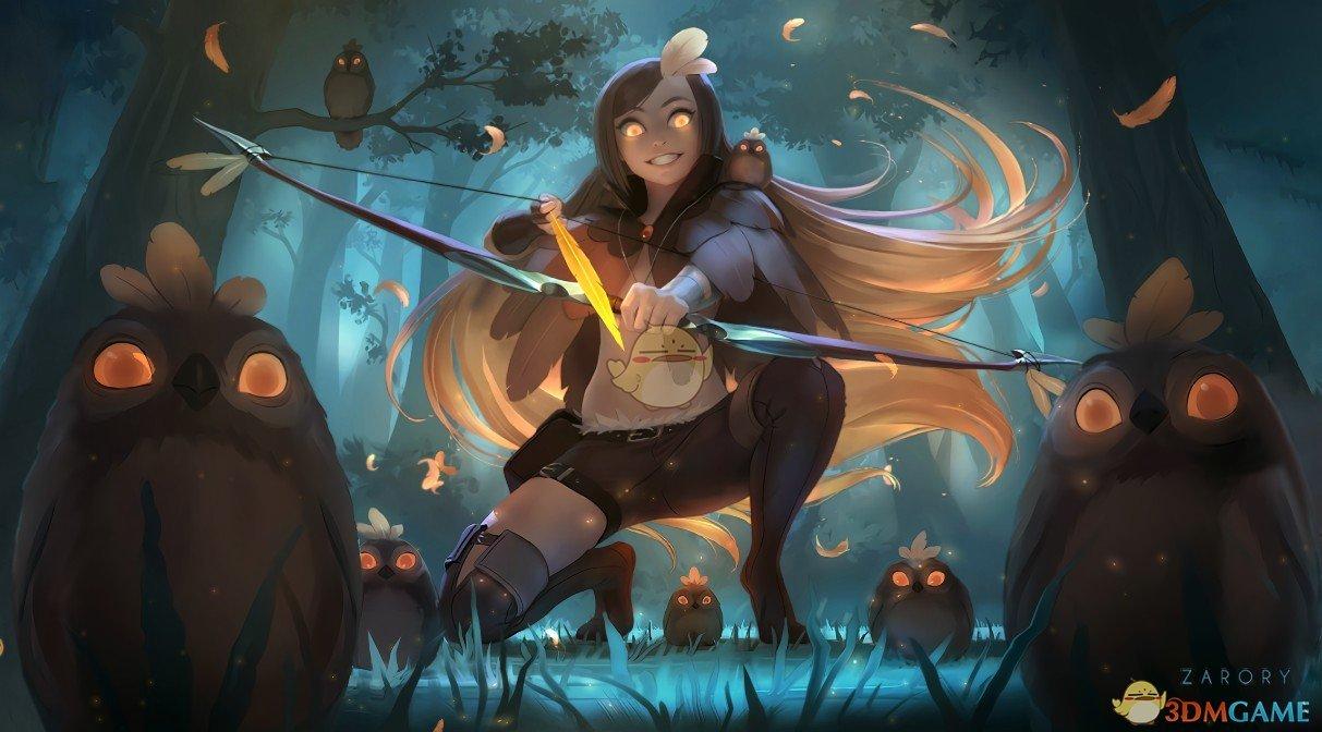 《Wallpaper Engine》超能力猎人女孩动漫动态壁纸