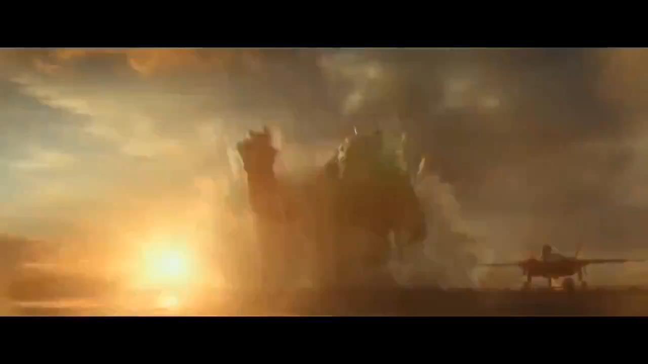 《哥斯拉大战金刚》先导预告片 金刚暴打哥斯拉