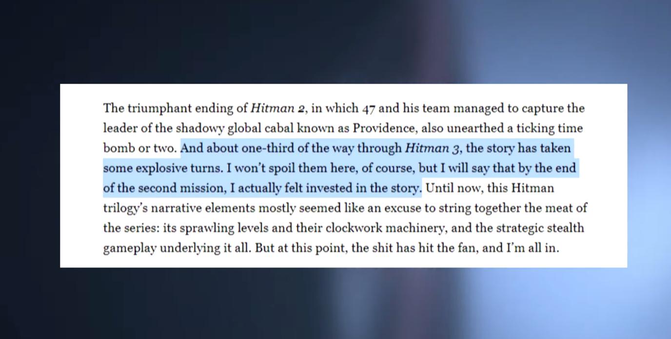 关于《杀手3》的4个你必须知道的细节