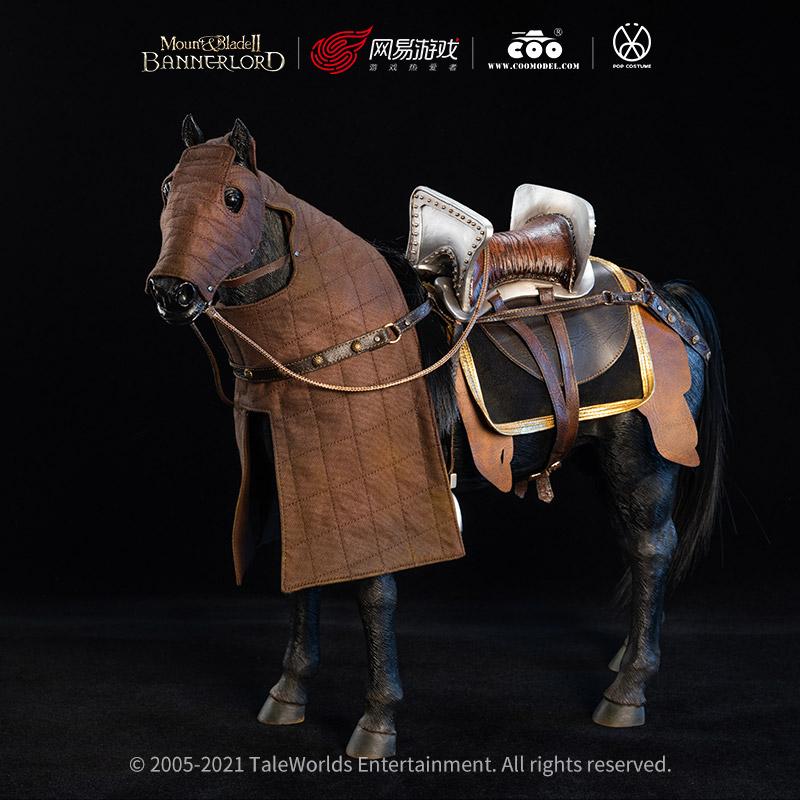 《骑马与砍杀2:霸主》正版周边首个典藏款可动人偶,预售将启