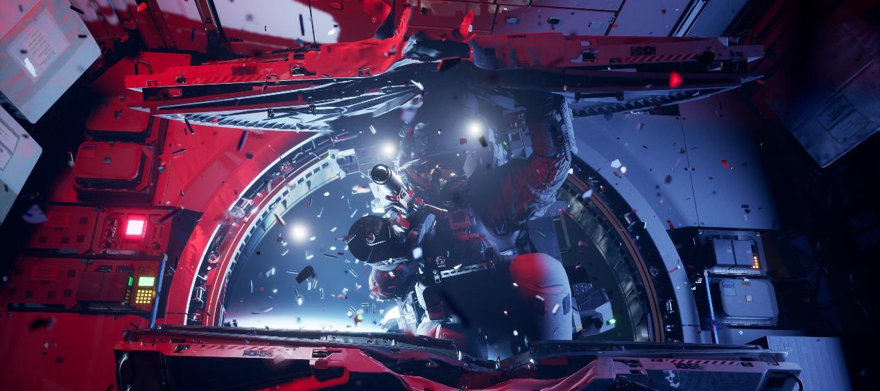 《边境》载荷测试招募正式开启:全真物理模拟太空环境,0重力战术射击对战!