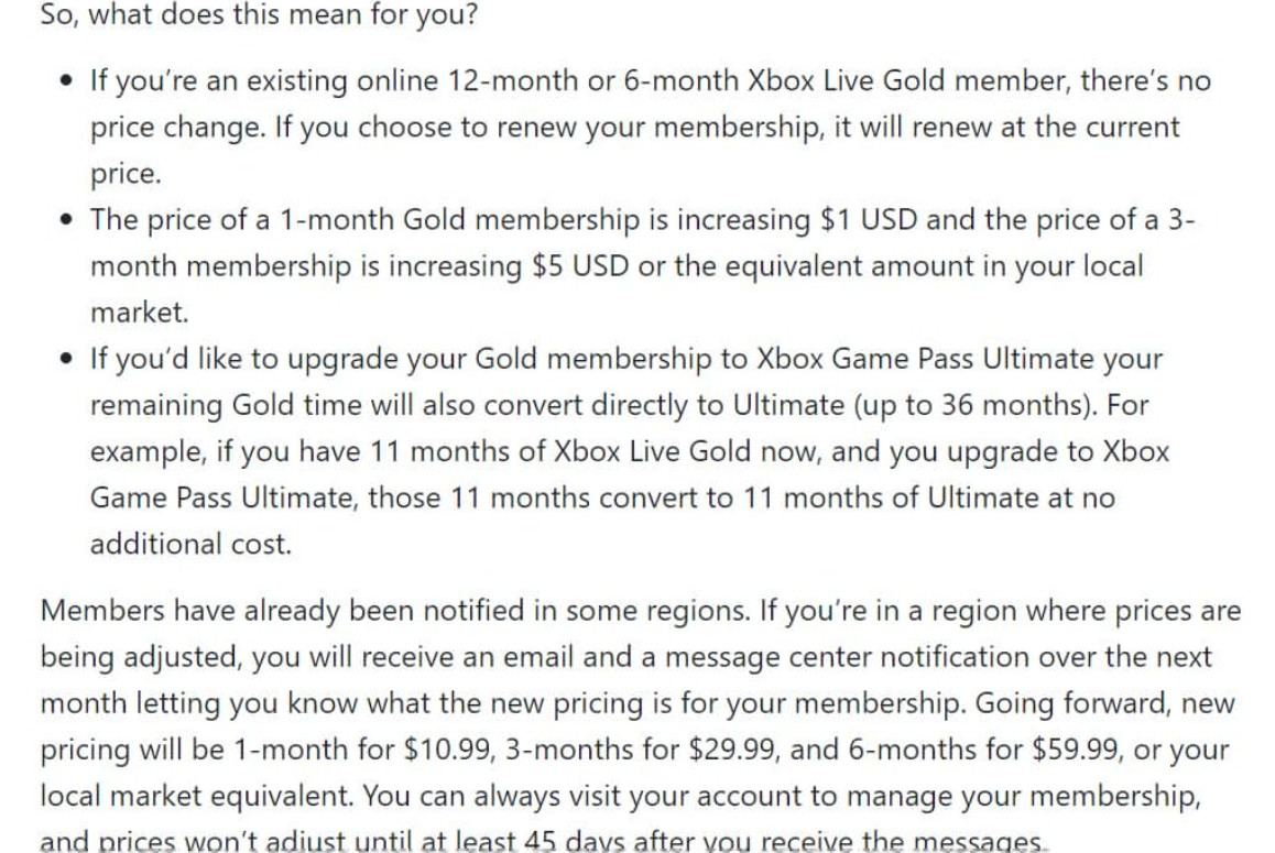 Xbox Live金会员涨价 2月份会免游戏公开