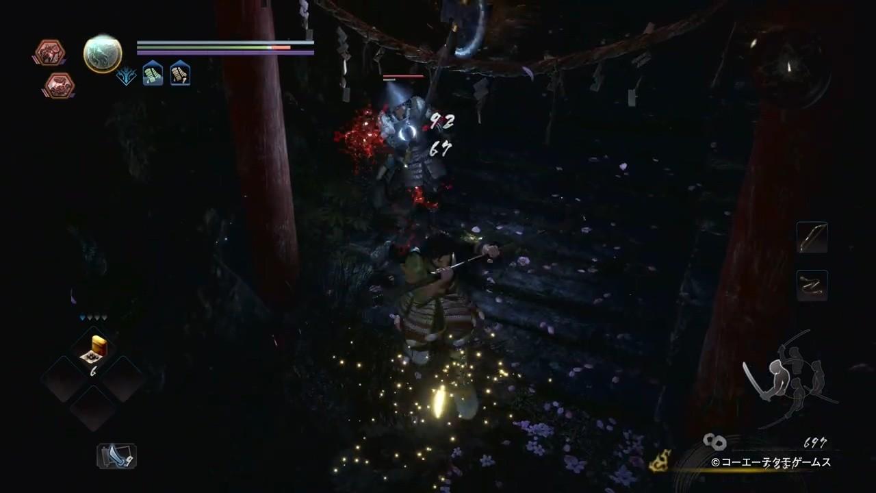 《仁王2》PS5版14分钟演示 画面表现出色