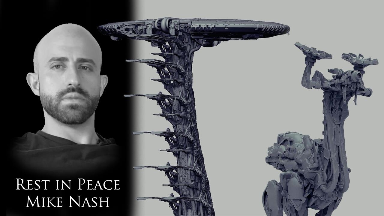 《地平线:黎明时分》概念画师Mike Nash离世 年仅36岁