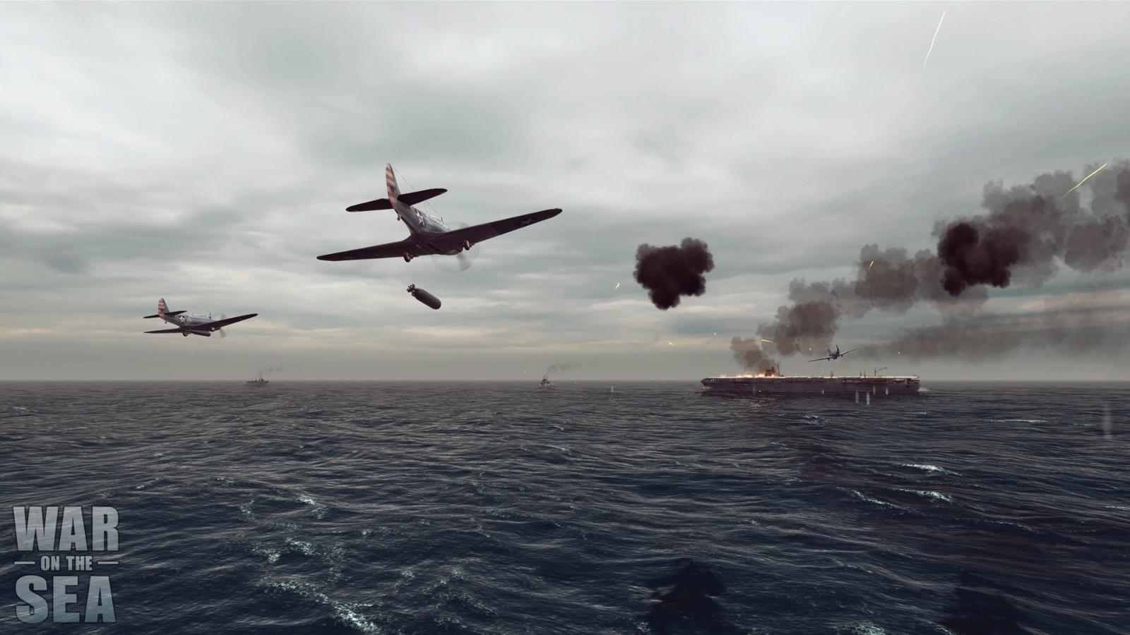 二战海战游戏《War on the Sea》将于今年2月发售