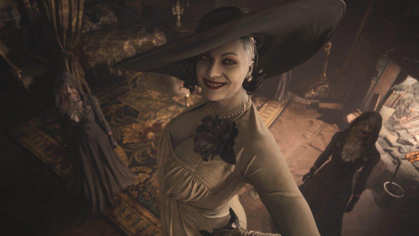 网友测算《生化危机8》里的吸血鬼夫人到底有多高
