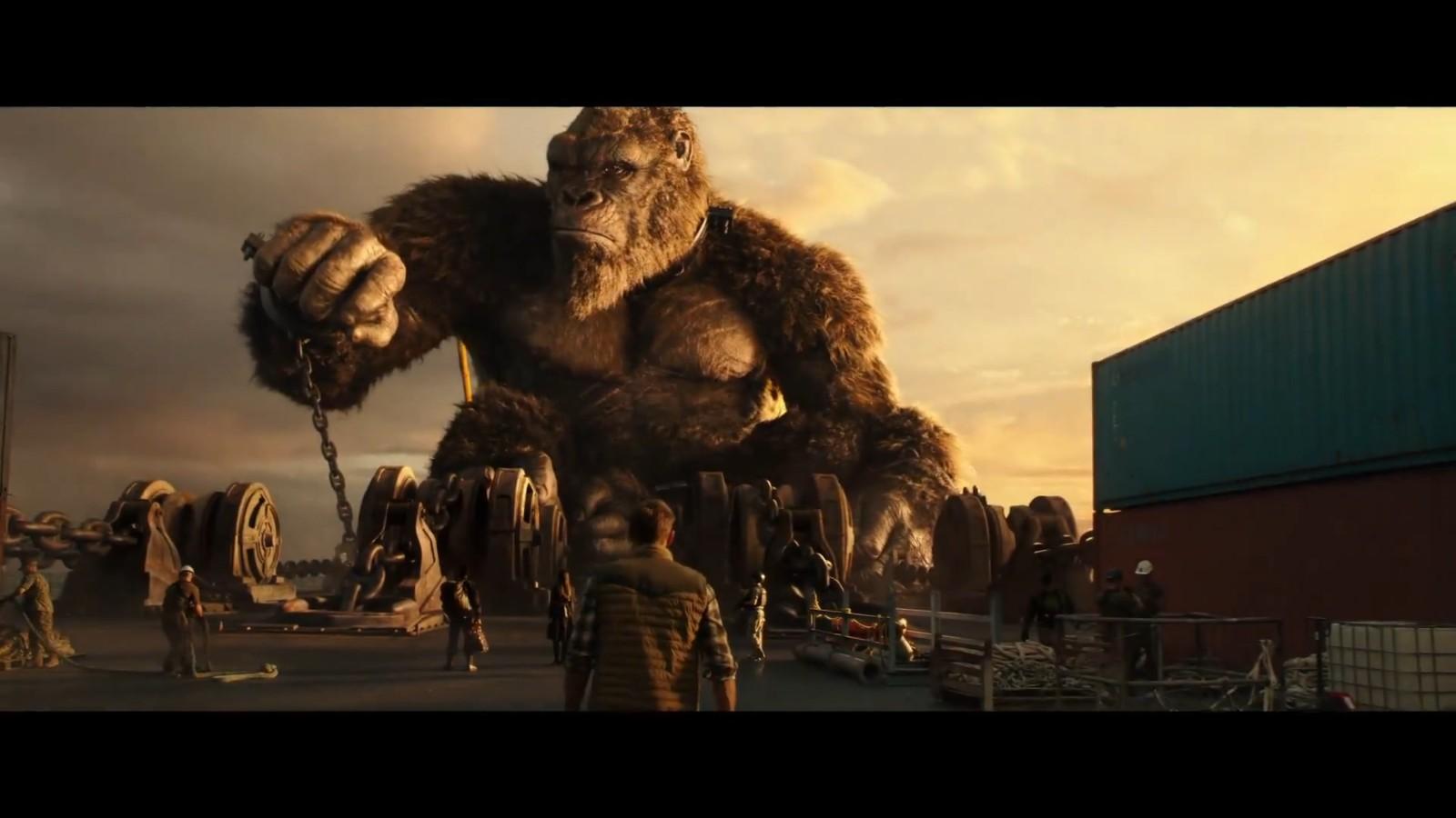 《哥斯拉大战金刚》中文预告片公开 巨兽生死较量