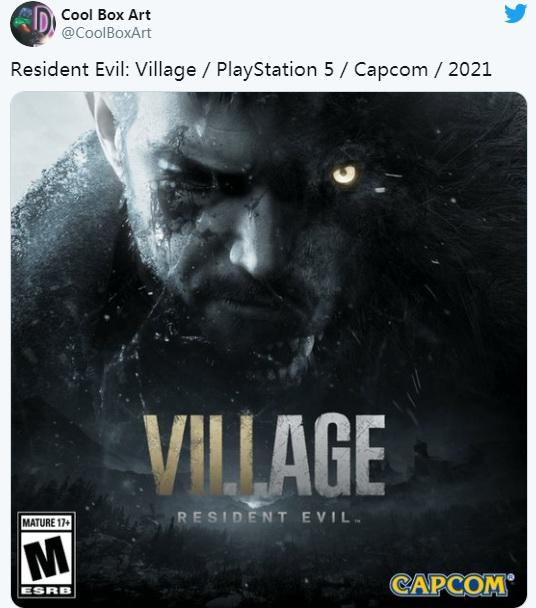 PS5《生化危机8》封面图曝光 克里斯是恐怖半兽人?