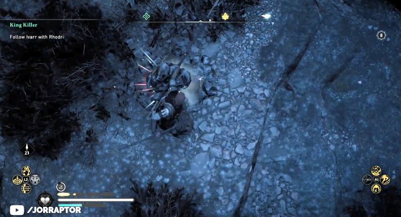 玩家分享《刺客信条:英灵殿》最强隐藏弓获取方法