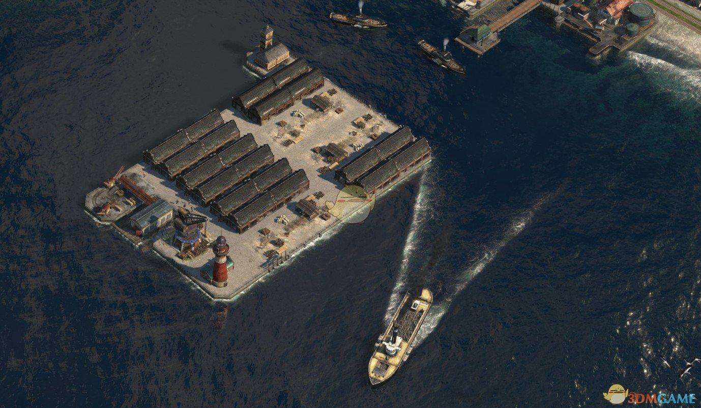 《纪元1800》船只卸货速度增强MOD