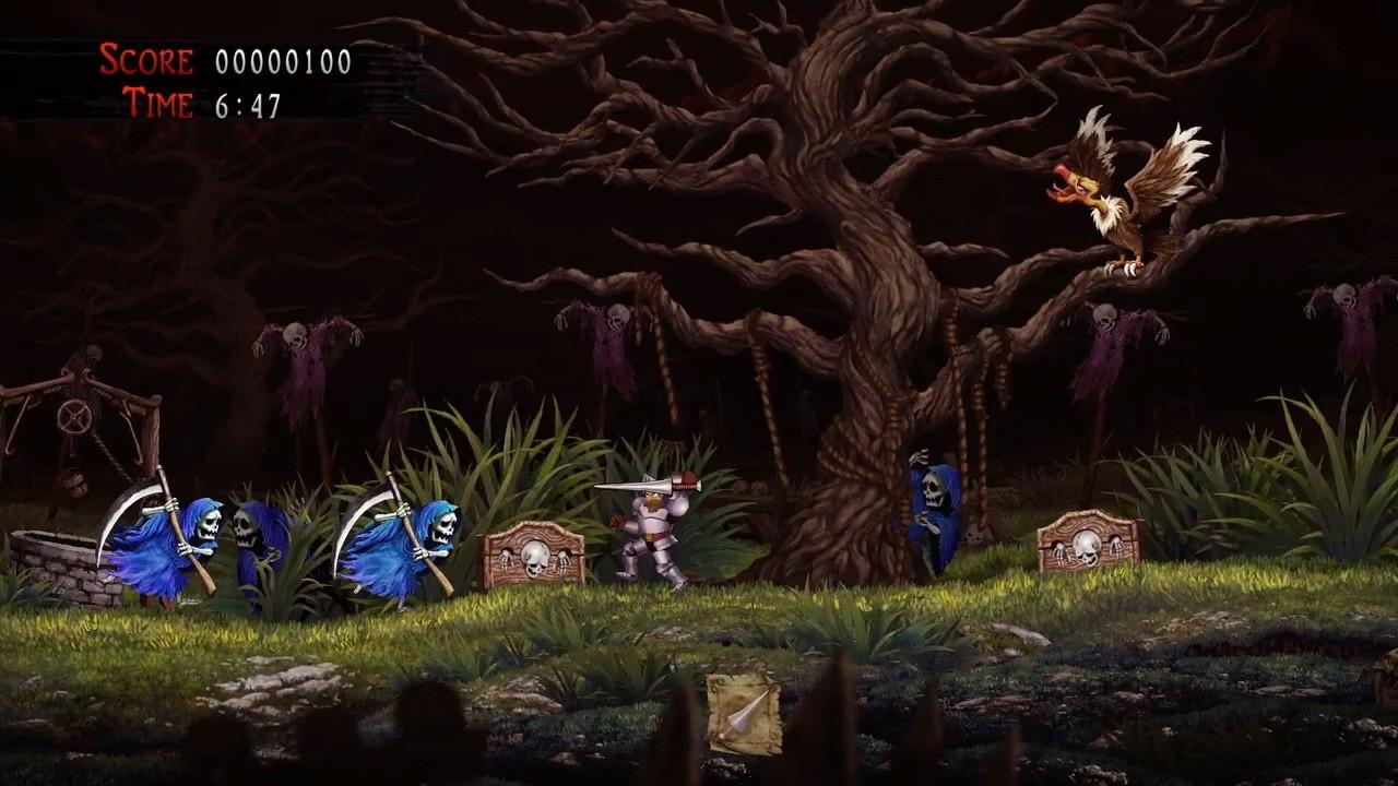 高难游戏代表作《魔界村Resurrection》15分钟试玩视频
