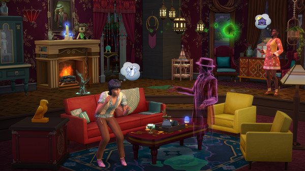 《模拟市民4》 灵异追击组合已上线Steam  售价68元