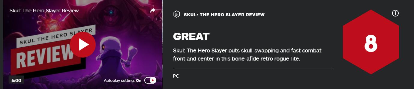 《小骨:英雄杀手》IGN 8分:游戏机制新颖完善