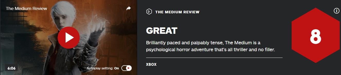 《灵媒》IGN 8分:充满惊悚与紧迫感