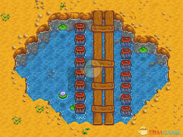 《星露谷物语》标准农场的小桥MOD