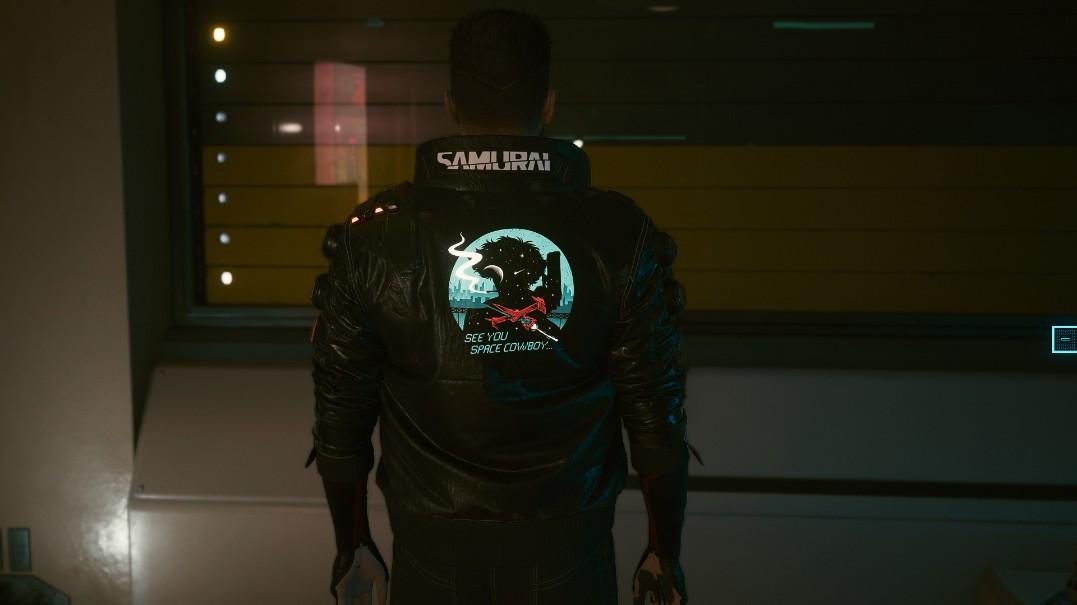 《赛博朋克2077》星际牛仔定制武士夹克MOD