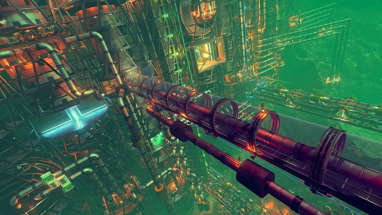 《无人深空》玩家打造超大海底基地 规模远超官方极限