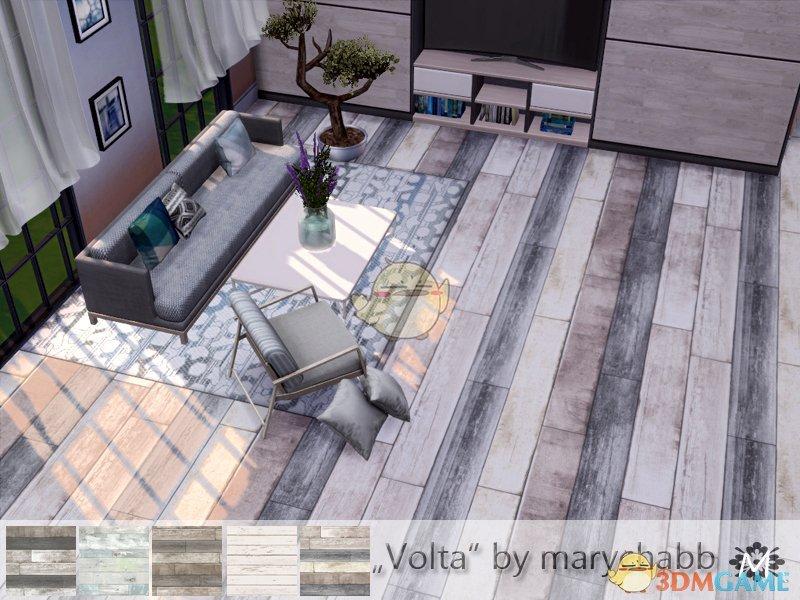 《模拟人生4》多色木地板MOD