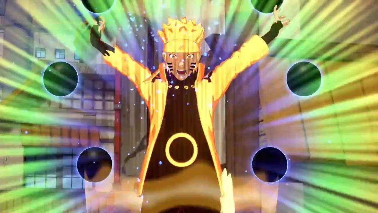 最终决战版漩涡鸣人参战《火影忍者:新忍出击》