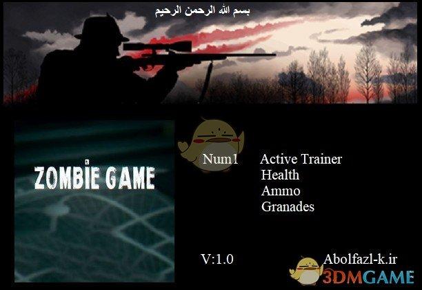 《僵尸游戏》v1.0三项修改器[Abolfazl]
