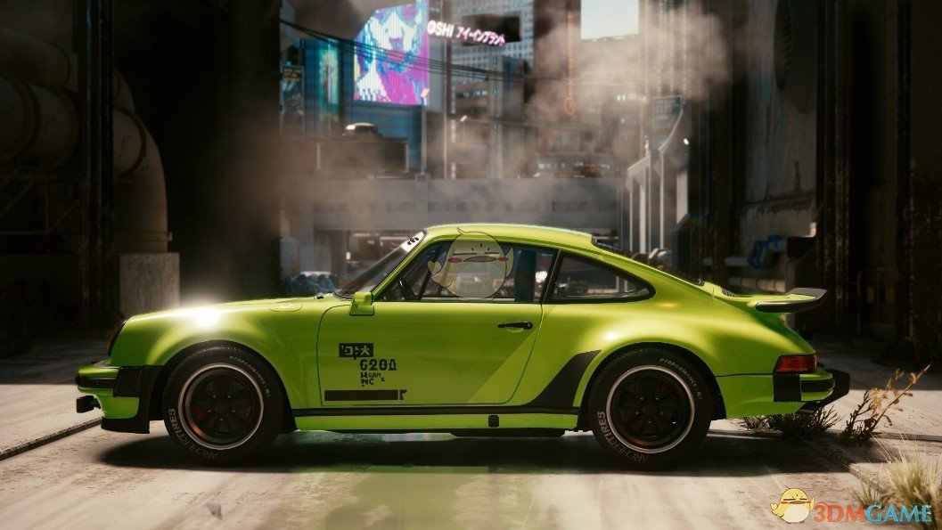 《赛博朋克2077》多彩保时捷911MOD