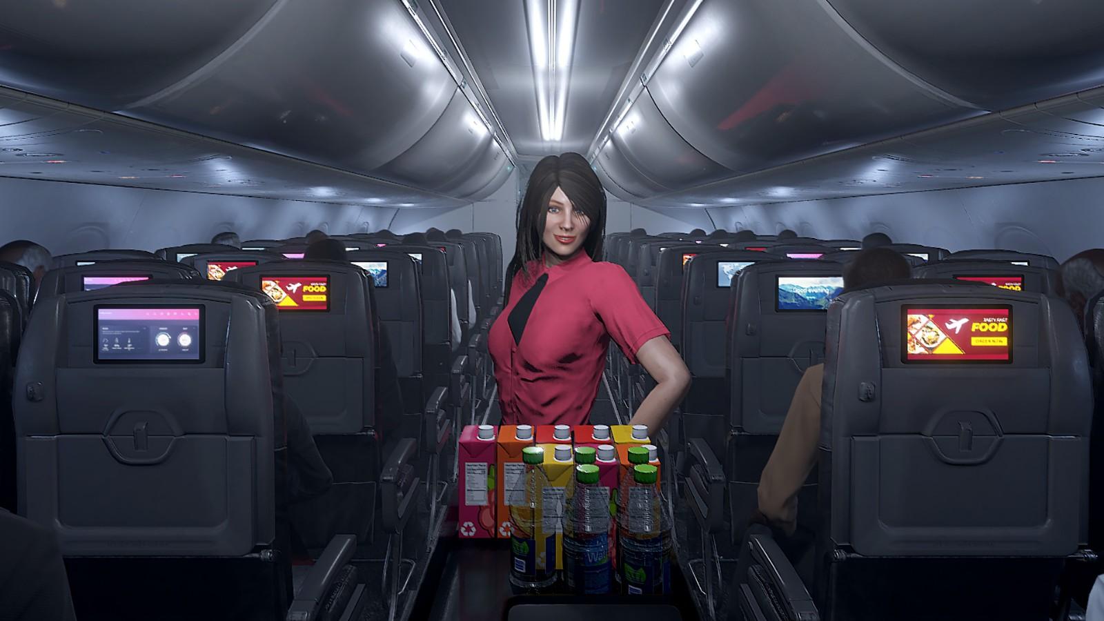 空姐模拟器来了!《空姐环游世界》上架Steam