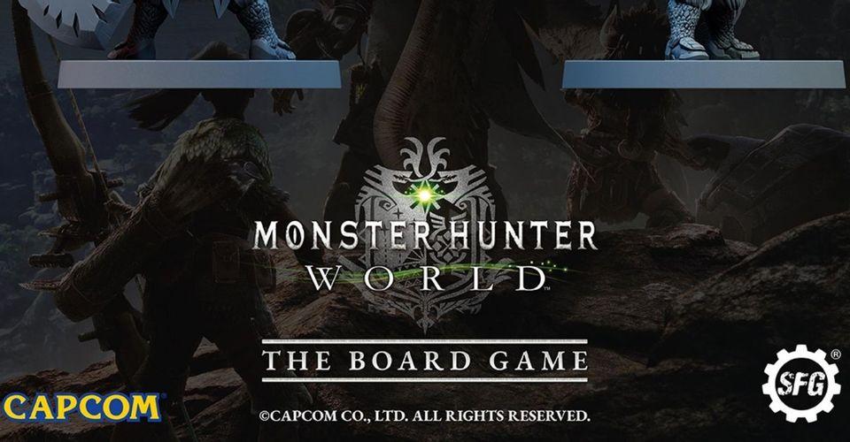 《怪物猎人:世界》桌游版众筹将于4月启动