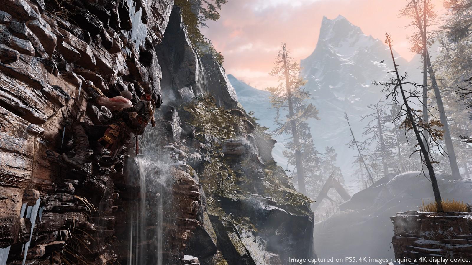 《战神4》PS5强化升级补丁明日正式免费更新