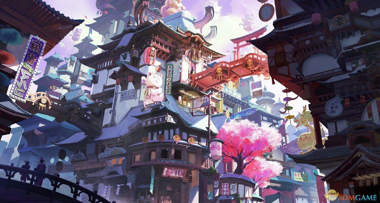 《Wallpaper Engine》复合奇幻中国城动态壁纸