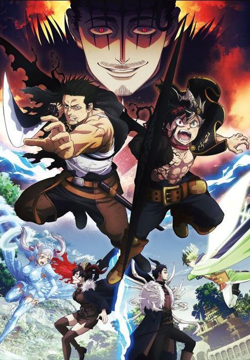 人气TV动画《黑色五叶草》官方日前宣布将于3月30日播出最终话