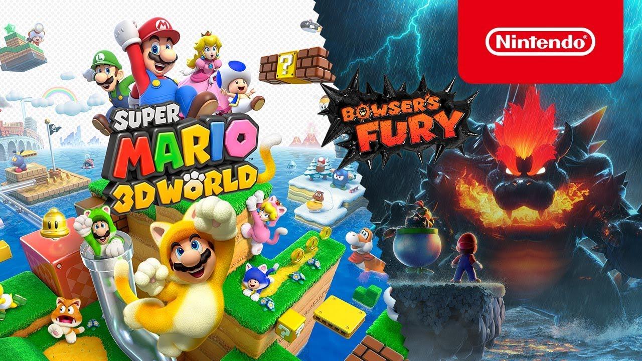 Fami通评分:《超级马里奥3D世界+狂怒世界》36分登白金殿堂