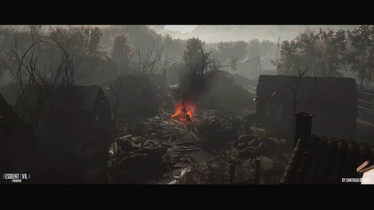 粉丝自制虚幻4《生化危机4》村庄、墓地以及教堂展示