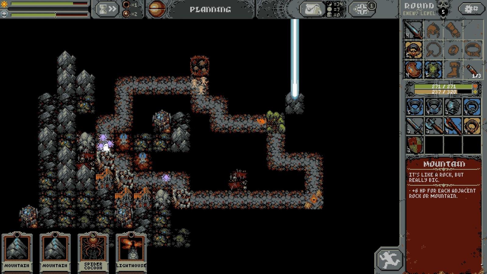 卡牌策略RPG《Loop Hero》试玩版上架Steam 3月4日正式发售