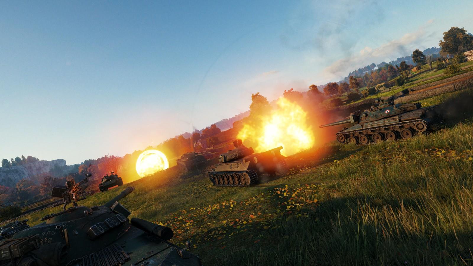 《坦克世界》上架Steam支持简中 将在年内发售