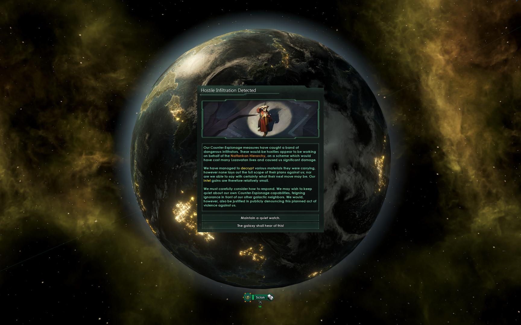 """《群星》新DLC""""Nemesis""""预告 决定银河系命运"""