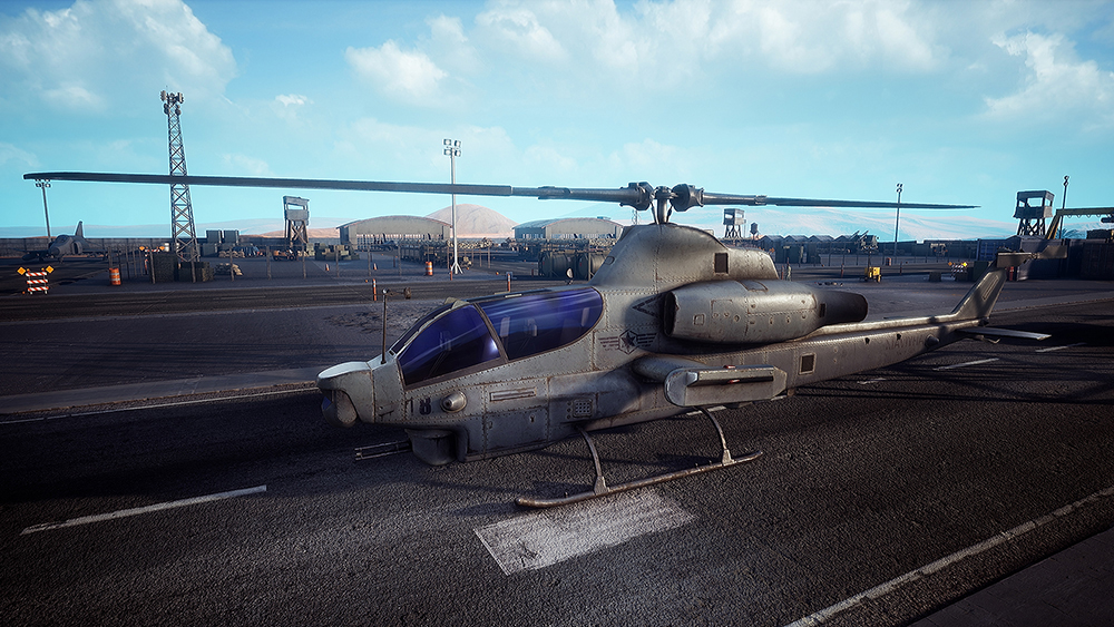 《烈火战马》2月9日鹰系直升机登场,AH-1衍生型号揭秘