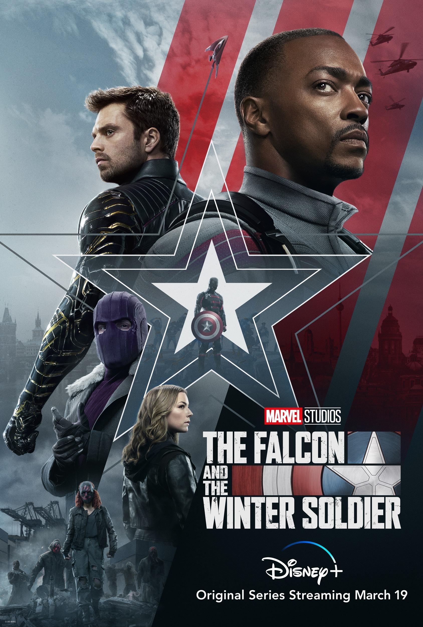 漫威新剧《猎鹰与冬兵》预告 将于3月19日上线