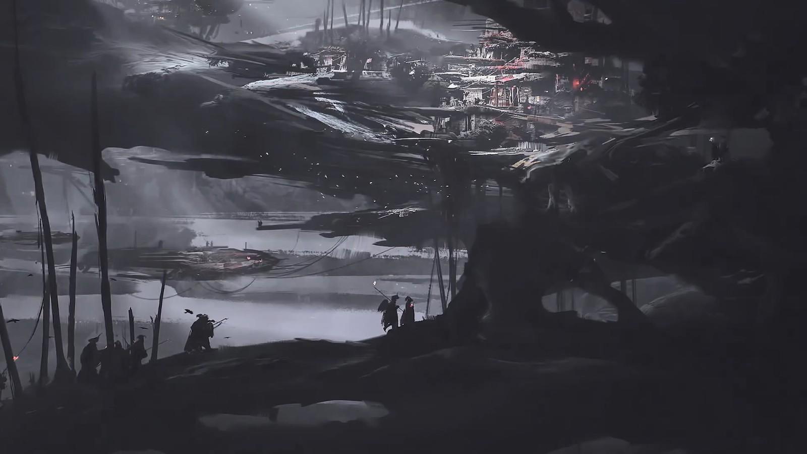 国产动作游戏《Project DT》发布幕后影像 大量概念图公开