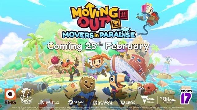 "《胡闹搬家》DLC""Movers in Paradise""本月推出"