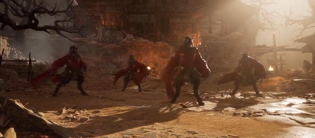 《黑神话:悟空》拜年新预告 悟空大战妖怪Boss