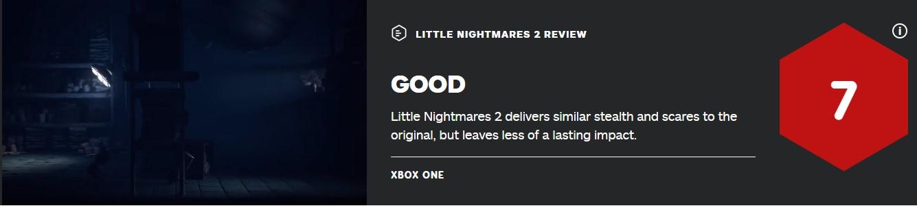 《小小梦魇2》IGN 7分:和前作体验相似、不能留下深刻印象